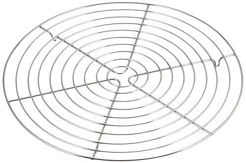 Kaiser Pâtisserie Abkühlgitter Ø 32,5 cm, Kuchengitter für gleichmäßiges und schnelles Auskühlen, leichte Lösbarkeit