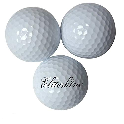 eliteshine Lot de 15 balles de golf flottant de balles de golf Balles de golf pratique