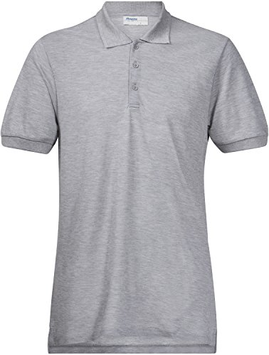 Bergans Valmue Piquè T-Shirt Homme, Grey Melange Modèle XL 2017 T-Shirt Manches Courtes