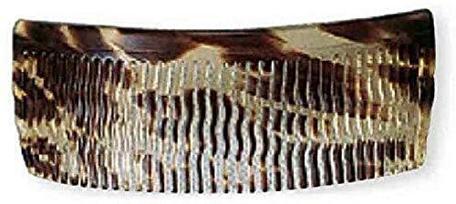 Efalock Celluloid Einsteckkamm Havanna 12 cm