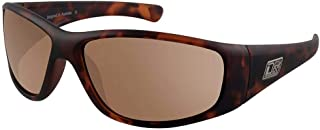 Dirty Dog Mens Wolf Satin Sunglasses - Brown Tort/Brown
