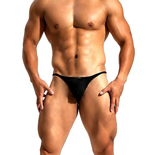 Arjen Kroos Hombre Sexy String Tanga Calzoncillos Elásticos Cómodos Ropa Interior Respirable Thong
