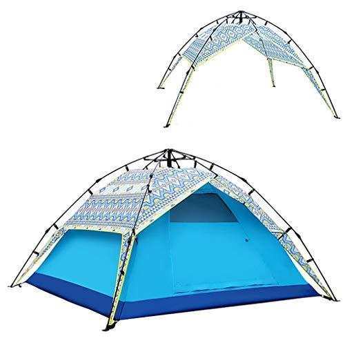 LXF JIAJU Carpas Carpas para Acampar Coleman Carpa Acampar al Aire Libre Carpa de Engrosamiento a Prueba de Lluvia Familiar Carpa de Camping Salvaje