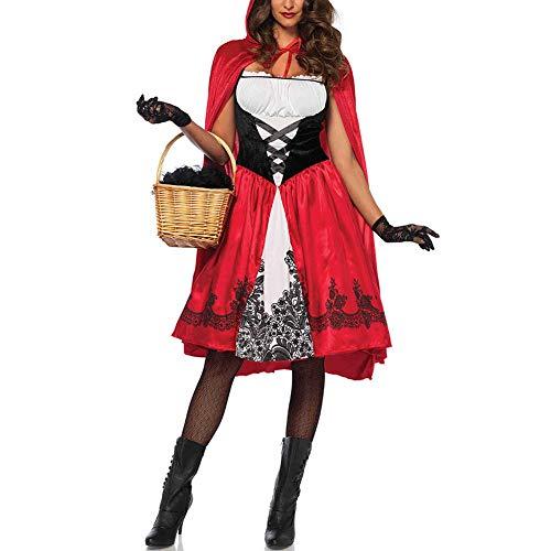 ACHICOO Vrouwen Grote Maat Halloween Kostuum Klein Rood Rijden Hood Oktoberfest Kostuum Creatieve Levensstijl