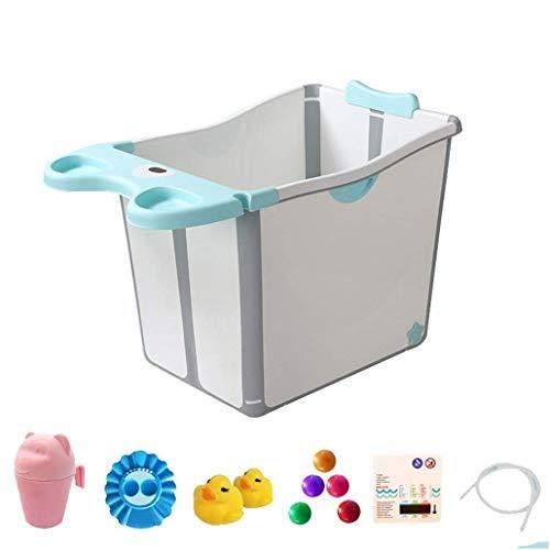 XYSQWZ Baignoire Pliable Baignoire pour Enfants Seau pour bébé Piscine Portable avec bac de Douche en Plastique épaissi
