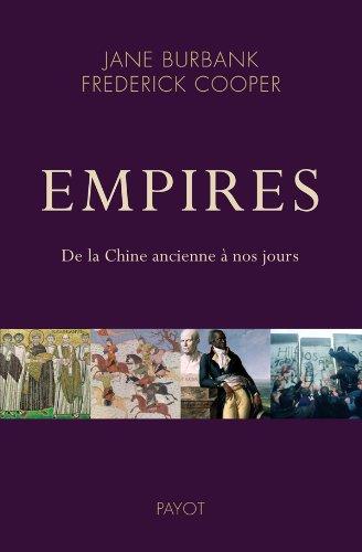 Empires. De la Chine ancienne à nos jours.