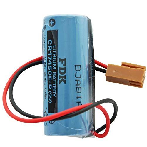 Sanyo/FDK Lithium Batterie CR17450E-R Size A, mit Kabel und Stecker - FANUC A02B-0200-K102, FANUC A98L0031001