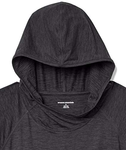 Amazon Essentials Women's Plus Size Brushed Tech Stretch Popover Hood