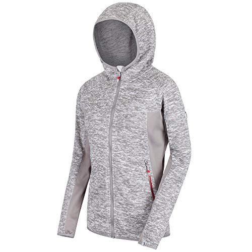 Regatta Damen Willowbrook V Fleece, LtStl/RockGr, FR : L (Taille Fabricant : 16)