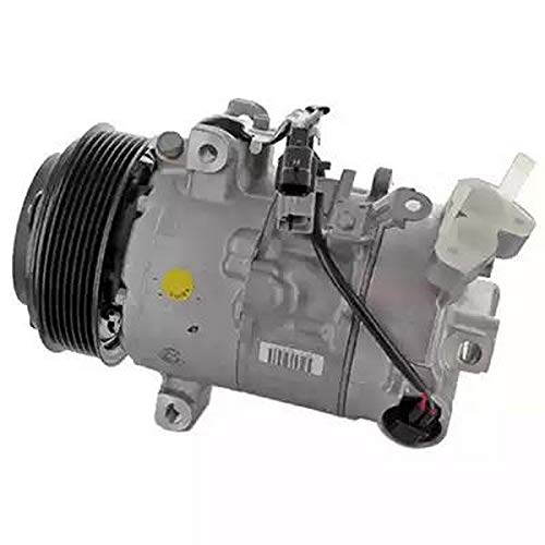 EcommerceParts - Compresor climatizador de aire acondicionado 9145374927230 para constructor: GENUINE, fijación con brida, ID compresor: 6SBU16C, polea Ø: 115 mm, N° aletas: 7
