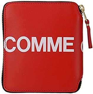 COMME des GARCONS (コムデギャルソン) 二つ折り財布 HUGE LOGO SA2100HL レッド