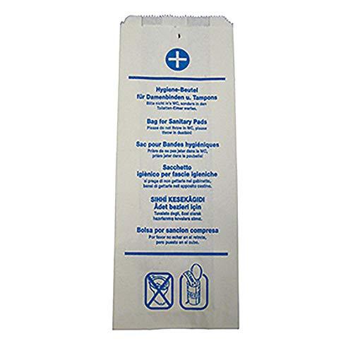 keine Marke 480.190 Hygiene-Beutel Papier, 100Stck