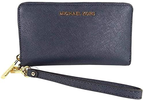 Michael Kors Damen Jet Set Travel Large Smartphone Wristlet, navy (Blau) - B-4222-42
