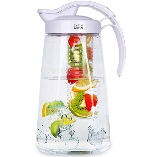 water and tea infuser pitcher - 5