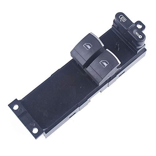 Interruptor de Control de ventana electrónico maestro apto para VW Golf MK4 apto para Passat b5 apto para Seat Leon Toledo 2 puertas 1J3-Red