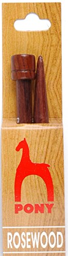 Pony Rosewood Straight Needles
