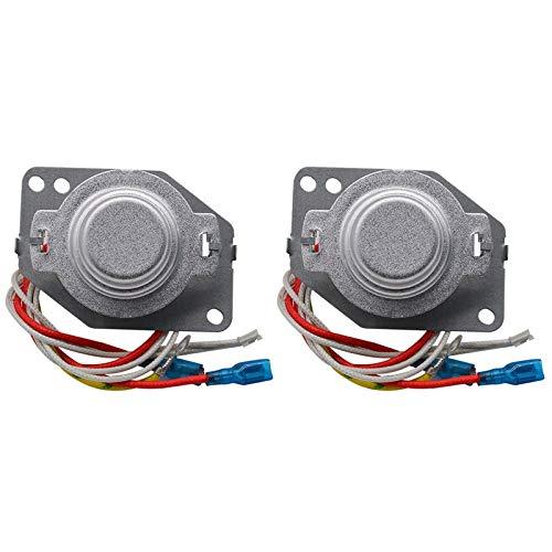 SODIAL Termostato para Olla Arrocera de 2 Piezas, Controlador de Temperatura de Calentamiento BimetáLico Ajustable para Olla Arrocera de Acero MagnéTico