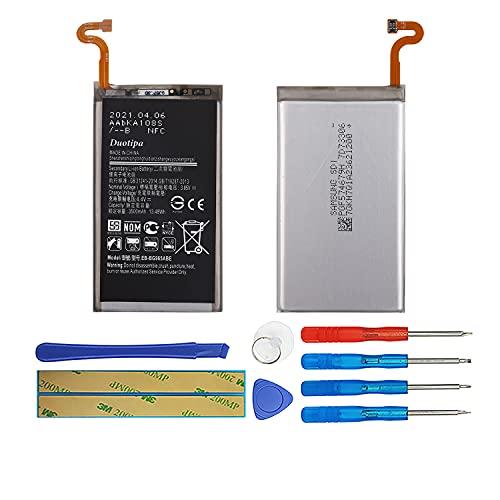 Duotipa Batería de repuesto EB-BG965ABE compatible con Samsung Galaxy S9 Plus S9+ SM-G965 batería con herramientas