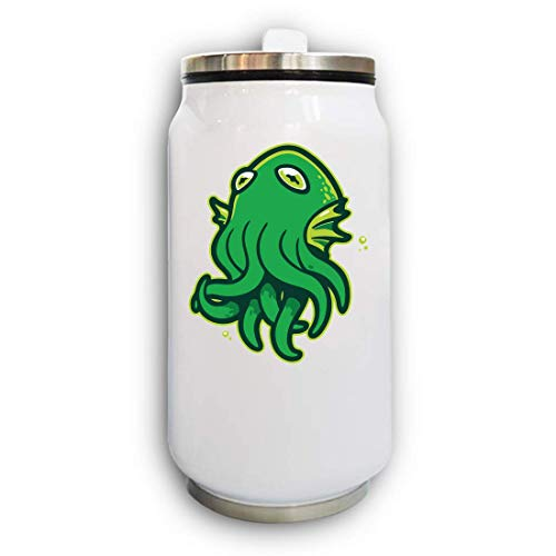 Iprints Minimalistic Cthulhu Elder God Horror Thermal Beverage Can thermoskan