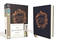 Niv Journal the Word Bible: New International Version, Navy, Cloth over Board: Red Letter Edition, Comfort Print: Reflect, Take Notes, or Create Art Next to Your Favorite Verses