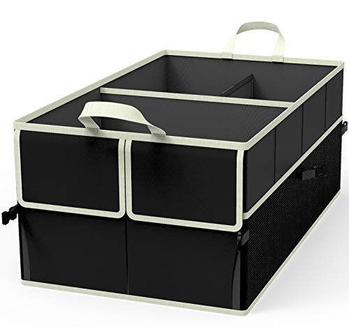 EPAuto 3-Compartment Cargo Trunk Storage Organizer