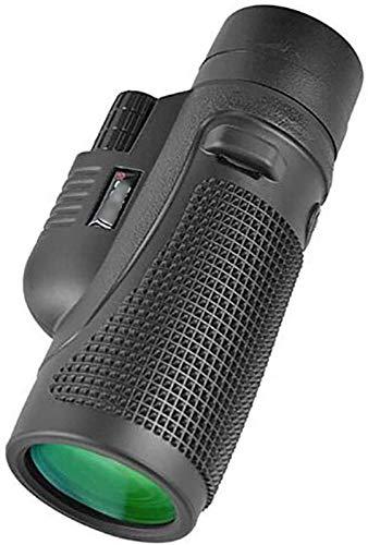JJDSN Alcance de detección HD Telescopios monoculares Ocular Grande y Campo de visión Grande Revestimiento Multicapa FMC Todo Lente de Vidrio óptico Lente de Objetivo Grande de 50 mm Viaje portáti