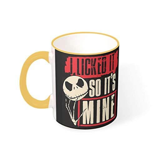 wbinshey Taza de té con diseño de I Licked It para cumpleaños, con 330 ml de capacidad