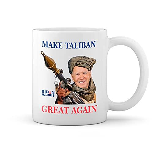 Make Taliban Great Again Biden Afganistan Blanco taza Mug