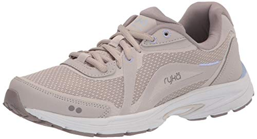 Ryka womens Sky Fit Walking Shoe, Silver Grey, 10.5 Wide US