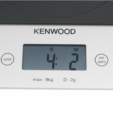 Kenwood AT850B Balance Electronique 2 g à 8 kg Plateau Verre