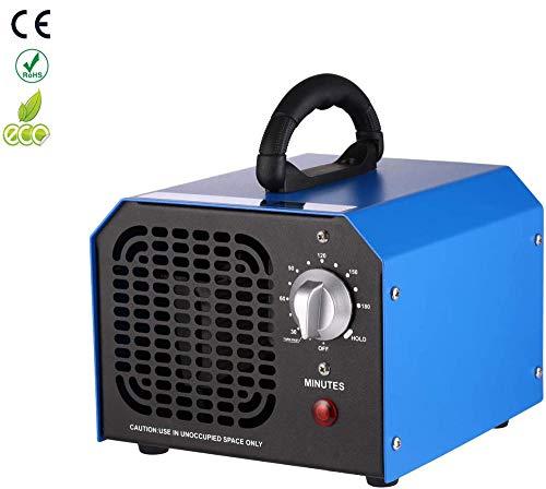 YU MENG Generador Purificador Doméstico Ozono Función Temporización Generador de ozono 6000 MG/h ozono y purificador de Olor a ozono