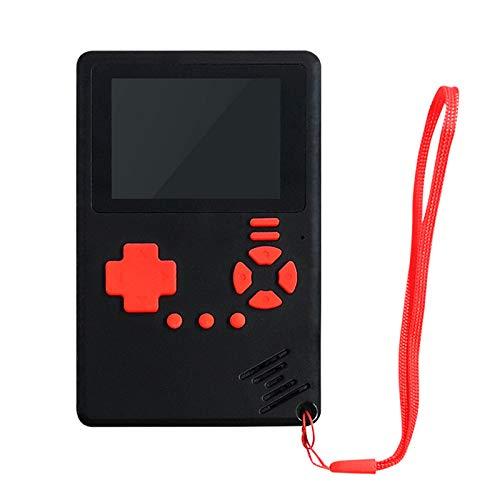 Myya 500 Modelos de Consolas de Juegos portátiles Mini y ultrafinas Consola de Juegos portátil clásica Infantil Consola de Juegos portátil multijugador con LCD a Color de 2,4 Pulgadas con Recargable
