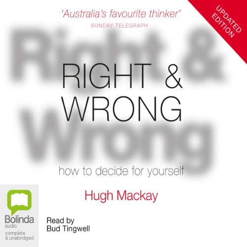 Right & Wrong audiobook cover art