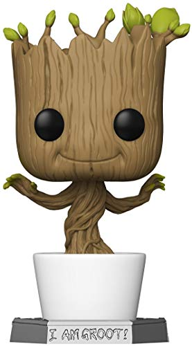 Funko- Pop Marvel Galaxy-18 Guardians of The Galaxy 18' Dancing Groot Figura Coleccionable, Multicolor (50094)
