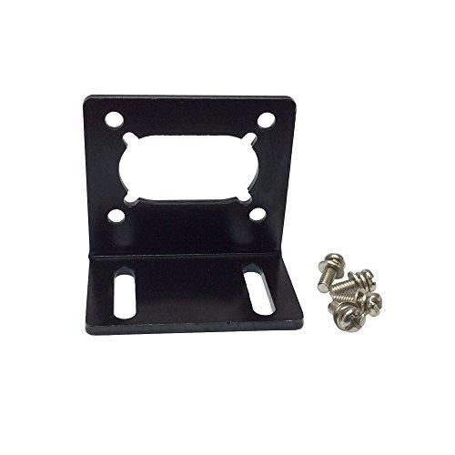 BEMONOC DC Gear Motor Install Bracket for 32GZ370 40GZ495 40GZ868 42GZ495 Electric DC Worm Gear Box Geared Reducer Bracket