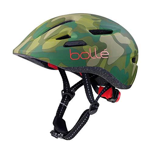Bollé Stance Junior - Casco para bicicleta (47-51 cm), color verde y...