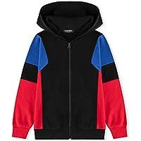 Alaviking Kids Soft Brushed Fleece Zip Up Hooded Sweatshirt