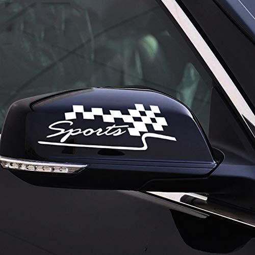 Voroly 2 Pcs Sports Car Stickers Auto Rearview Mirror Decals Auto Stickers for Car SUV Truck product image