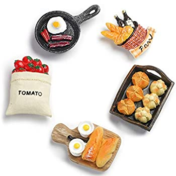 Aiuwo Refrigerator Magnets for Fridge Magnets ,Cute Magnets Kitchen Decoration Kitchenware,Perfect for Refrigerators Whiteboards Maps and Other Magnetic Items  Kitchenware  5PCS