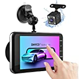 Dash Cam, 1080P Full HD Touch Screen Car Camera Front and Rear 4""