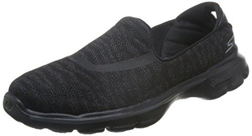 Skechers GO Walk 3 Creation Schuhe Damen Walking GOGA Plus Ballerina, Schuhgröße:38 EU