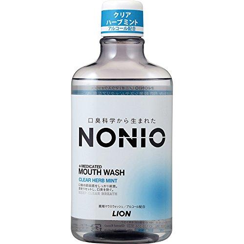 NONIO(ノニオ) [医薬部外品] マウスウォッシュ クリアハーブミント 洗口液 単品 600ml