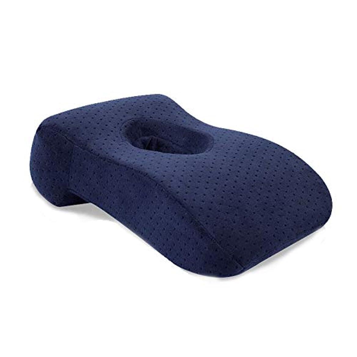 はげおばさんジュニアNOTE 多機能旅行低反発枕オフィス昼寝枕L字型遅いリバウンド低反発枕机の睡眠