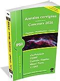 Annales des Concours 2020 - Psi Physique, Modélisation et Chimie