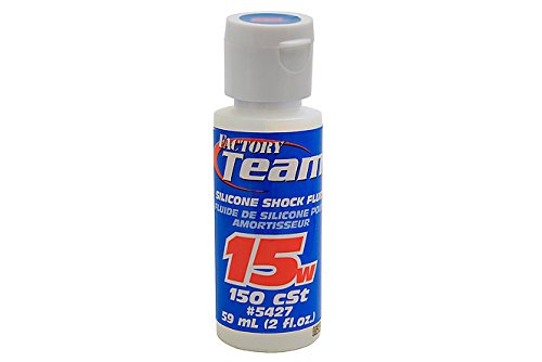 Team Associated 5427 15 Weight Silicone Shock Oil, 2-Ounce