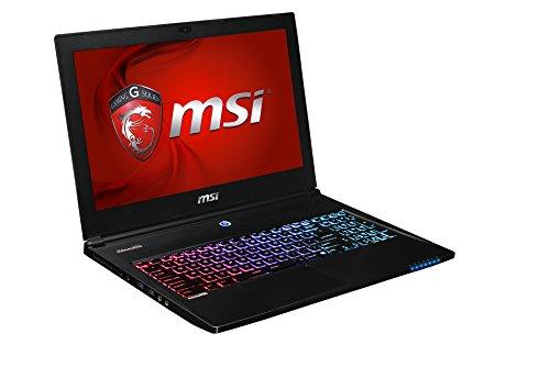 MSI GS60 2PC-265NL 39,6 cm (15,6 Zoll) Laptop (Intel Core i7 4710HQ, 3,2GHz, 16GB RAM, 1TB HDD/SSD, NVIDIA GeForce GTX860M, Win 8) schwarz