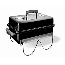 top rated Weber 121020 Charcoal grill for on-the-go, black, 14.5 inches (height) x 21 inches (width) x 12.25 inches (length). 2021