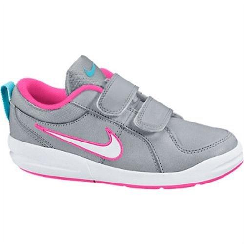 Nike Pico 4 (PSV), Zapatillas para Niñas, Gris/Blanco/Rosa, 28.5 EU