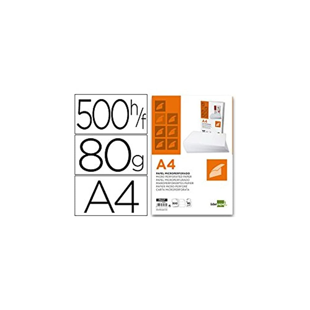 liderpapel PA07?–?Paper Pack of 500?Sheets