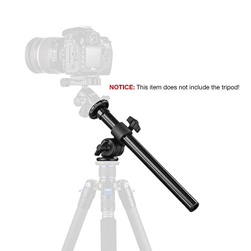 "Tycka Tripod Boom (12""6 Length, Capacity of 5kg), Camera Extension..."
